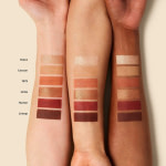 ILIA The Necessary Shadow Palette Warm Nude swatches arms